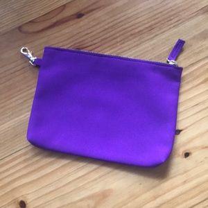 Neoprene zipper case/clutch/organizer